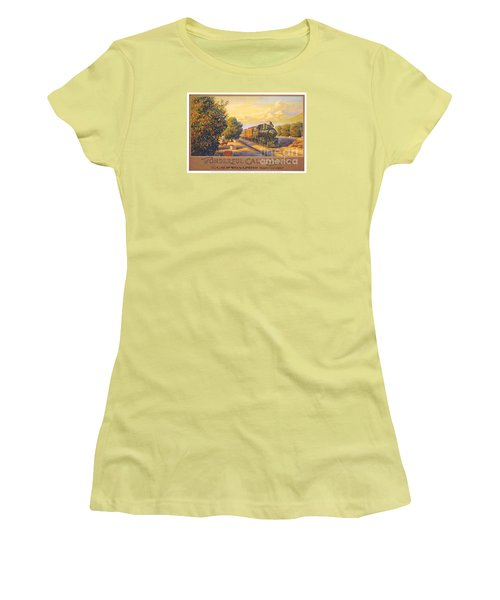 Wonderful California Women's T-Shirt (Athletic Fit)