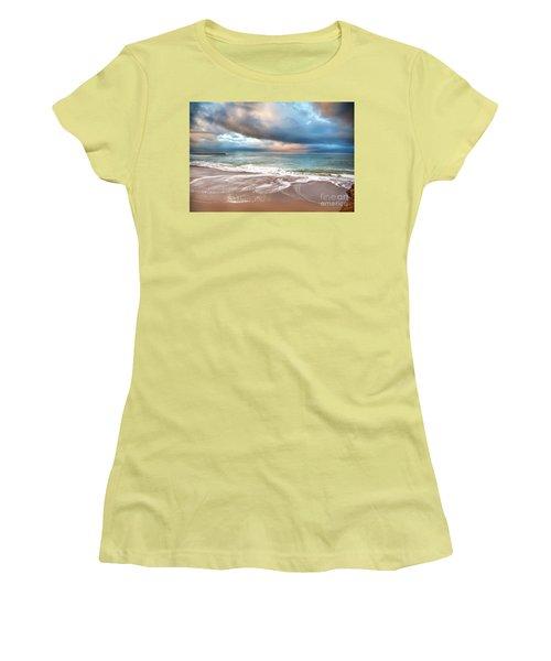 Wonderland Women's T-Shirt (Junior Cut) by David Millenheft