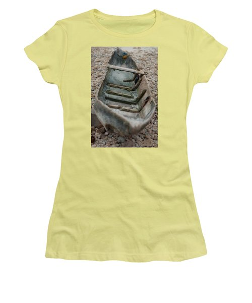 Wooden Boat1 Women's T-Shirt (Athletic Fit)