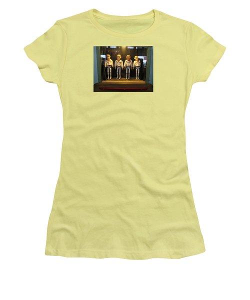 Wooden Rat Pack Women's T-Shirt (Junior Cut) by John King