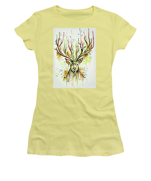 Woodland Magic Women's T-Shirt (Athletic Fit)