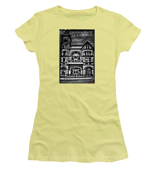 Woodstock Opera House Women's T-Shirt (Athletic Fit)