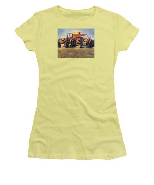 Workin' At The Ranch Women's T-Shirt (Junior Cut)