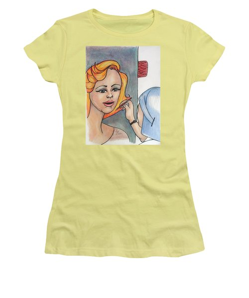 Working Portrait Women's T-Shirt (Athletic Fit)