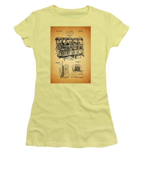 Ww2 Military Transport Vehicle Women's T-Shirt (Junior Cut) by Dan Sproul