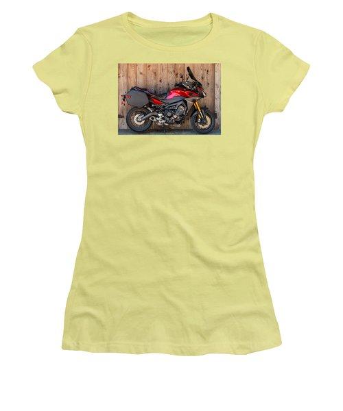 Yamaha Fj-09 .2 Women's T-Shirt (Junior Cut) by E Faithe Lester