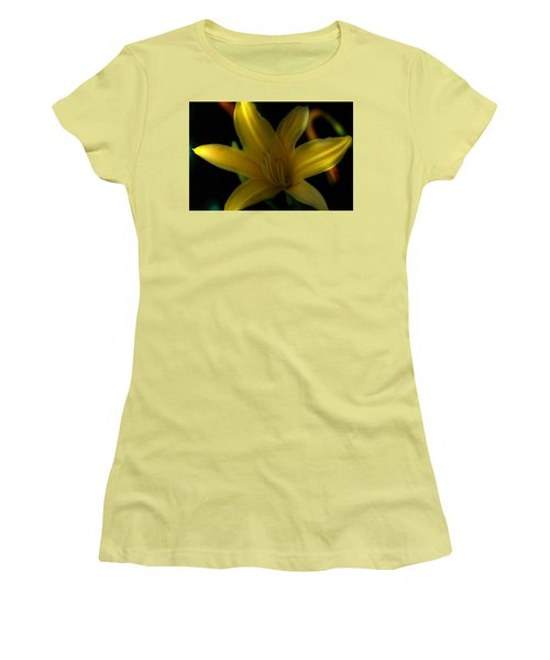 Yellow Beckoning Women's T-Shirt (Athletic Fit)