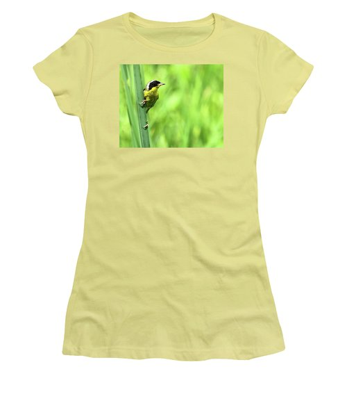 Yellow Throat Women's T-Shirt (Athletic Fit)