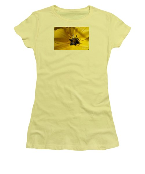 Yellow Tulip 1 Women's T-Shirt (Athletic Fit)