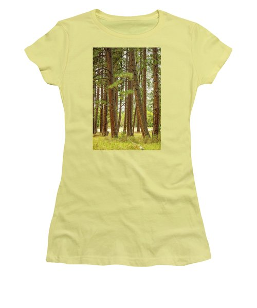 Women's T-Shirt (Junior Cut) featuring the photograph Yosemite by Jim Mathis