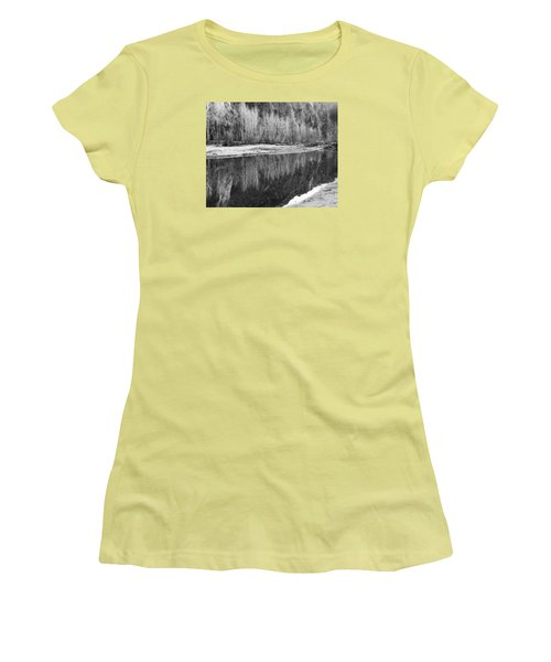 Women's T-Shirt (Junior Cut) featuring the photograph Yosemite  by Lora Lee Chapman