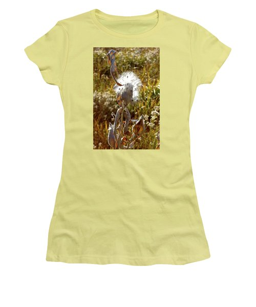 Yosemite Milkweed Women's T-Shirt (Athletic Fit)