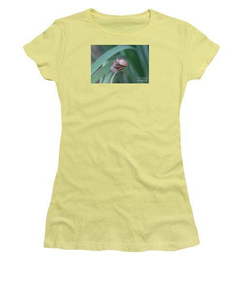 You And Me Kid Women's T-Shirt (Junior Cut) by Suzanne Oesterling