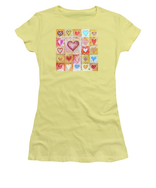 You Can Only See Clearly With Your Heart Women's T-Shirt (Junior Cut) by Jutta Maria Pusl