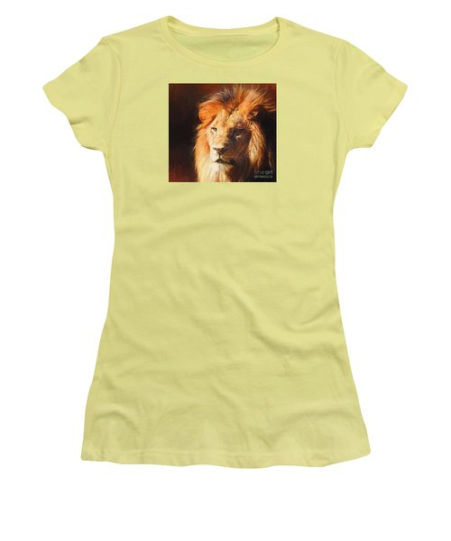 Young King Women's T-Shirt (Junior Cut) by Suzanne Handel