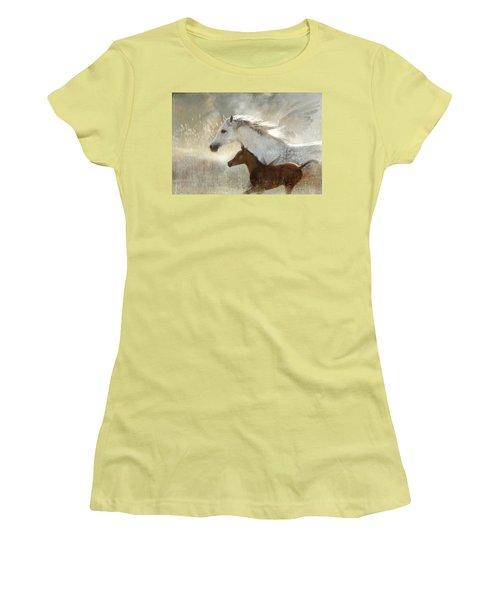 Your Wings Exist  Women's T-Shirt (Junior Cut) by Dorota Kudyba