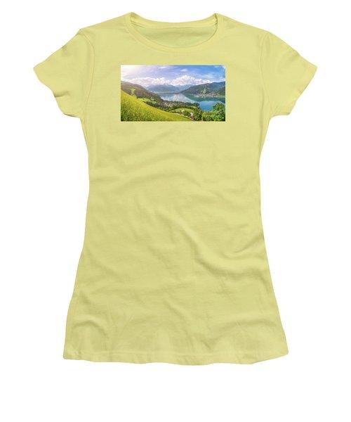 Zell Am See - Alpine Beauty Women's T-Shirt (Junior Cut) by JR Photography