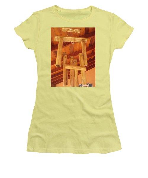Zen By Myself Women's T-Shirt (Junior Cut) by Beto Machado
