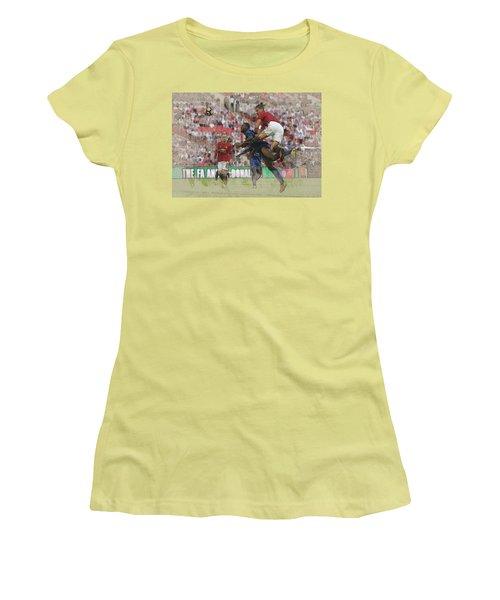 Zlatan Ibrahimovic Header Women's T-Shirt (Athletic Fit)