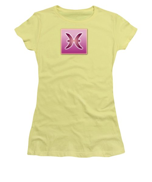 Pisces February 18 - March 20 Sun Sign Astrology  Women's T-Shirt (Athletic Fit)
