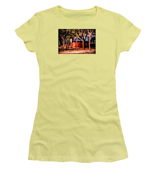 Women's T-Shirt (Junior Cut) featuring the photograph Zulu Sunset by Rick Bragan