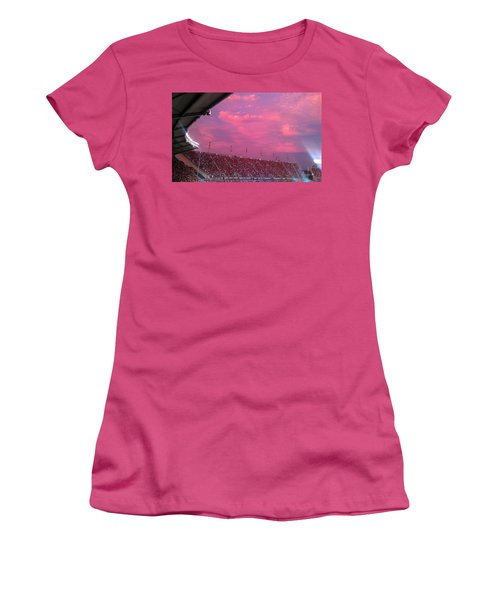 Bryant-denny Painted Sky Women's T-Shirt (Athletic Fit)