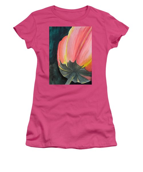 Looking Up Women's T-Shirt (Junior Cut) by Betty-Anne McDonald