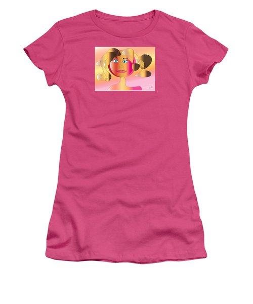 Carla Women's T-Shirt (Junior Cut) by Iris Gelbart