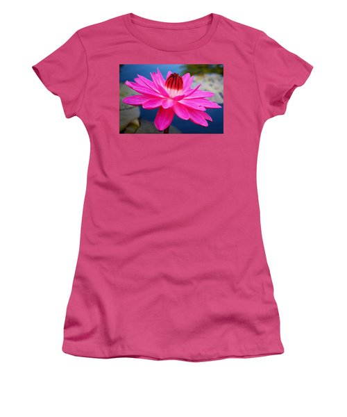 A Flower And A Dream... Women's T-Shirt (Athletic Fit)