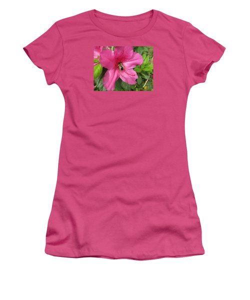 Bee Cause Women's T-Shirt (Athletic Fit)