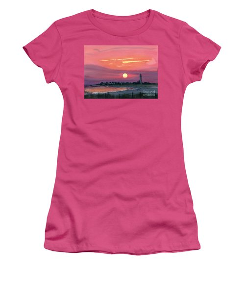 Cape May Sunset Women's T-Shirt (Athletic Fit)
