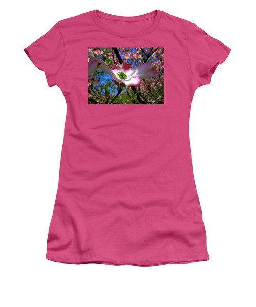 Center Stage Women's T-Shirt (Athletic Fit)