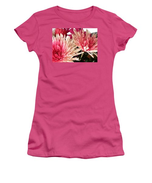 Feel The Heart Felt Love Women's T-Shirt (Junior Cut) by Belinda Lee