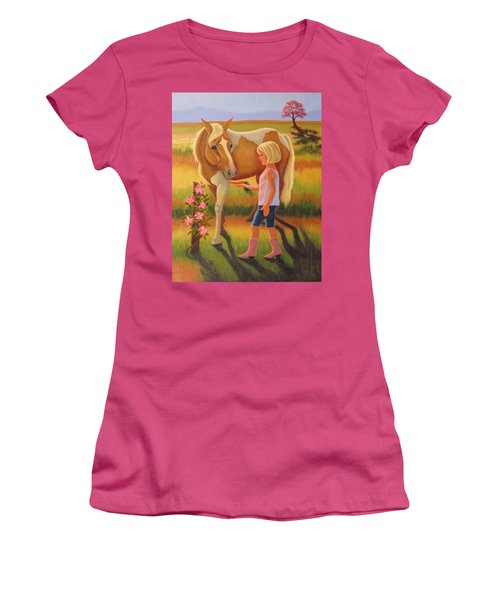 Fields Of Blessing Women's T-Shirt (Athletic Fit)