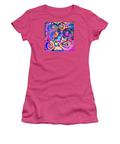 Abstract Art Painting #2 Women's T-Shirt (Athletic Fit)