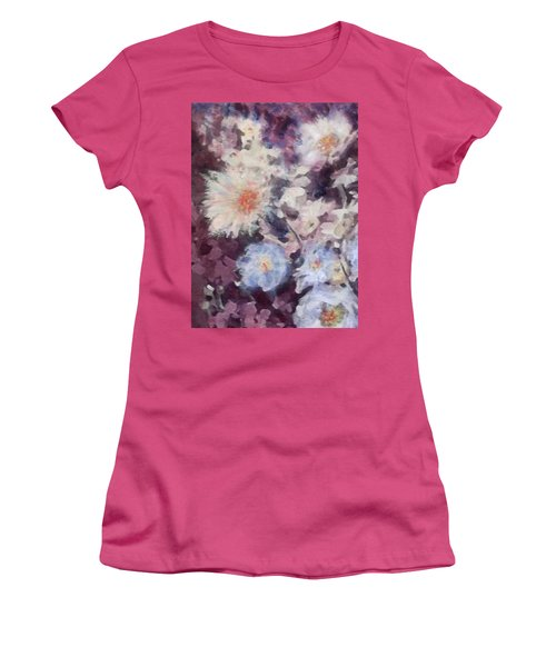 Flower  Burst Women's T-Shirt (Athletic Fit)