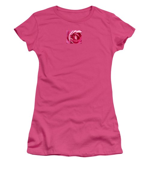 In The Pink Women's T-Shirt (Junior Cut) by Janice Westerberg