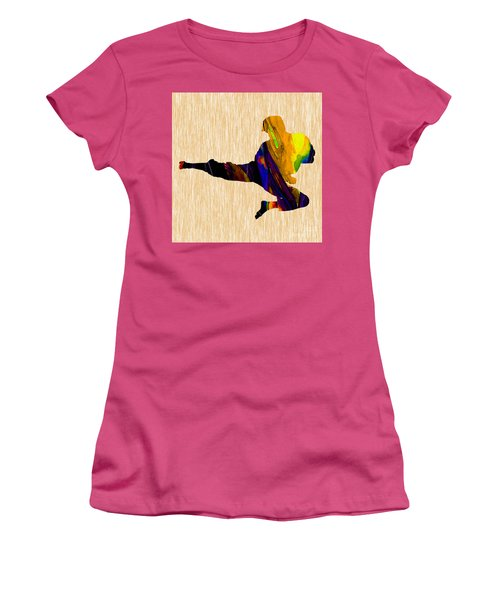 Karate Women's T-Shirt (Junior Cut) by Marvin Blaine