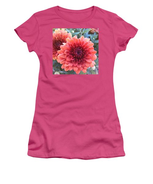 Women's T-Shirt (Junior Cut) featuring the photograph Last Of The Summer by Denyse Duhaime