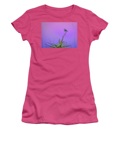 Women's T-Shirt (Junior Cut) featuring the photograph Mocking The Yucca by Rob Sellers
