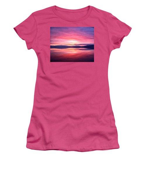 Morning Dawn Women's T-Shirt (Junior Cut) by Michael Pickett