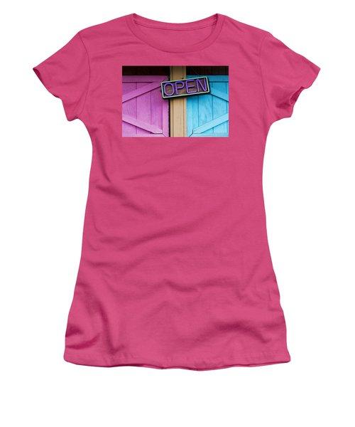 Open Women's T-Shirt (Athletic Fit)