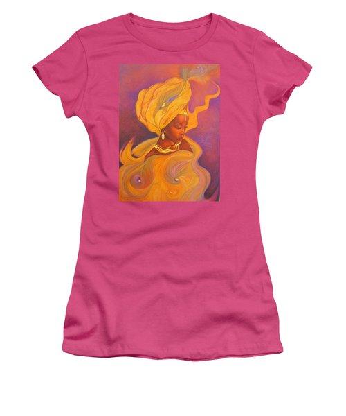 Oshun Goddess Women's T-Shirt (Athletic Fit)