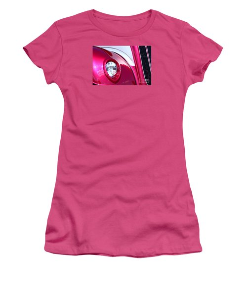 Pink Passion Women's T-Shirt (Junior Cut) by Linda Bianic