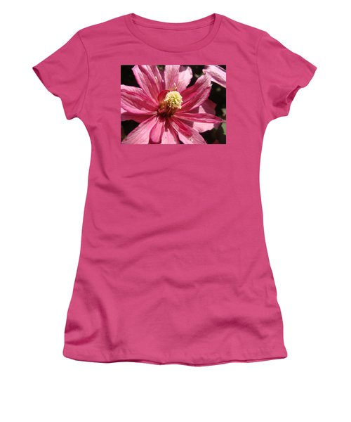 Pretty In Pink Women's T-Shirt (Junior Cut) by Cheryl Hoyle