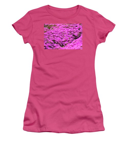 Purple Hills Women's T-Shirt (Athletic Fit)
