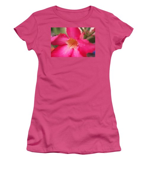 Rain Season Women's T-Shirt (Junior Cut) by Miguel Winterpacht