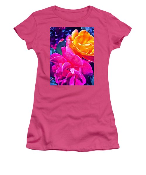 Rose 49 Women's T-Shirt (Athletic Fit)