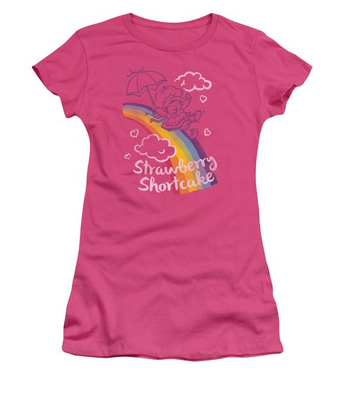 Strawberry Shortcake - Rainbow Women's T-Shirt (Junior Cut) by Brand A