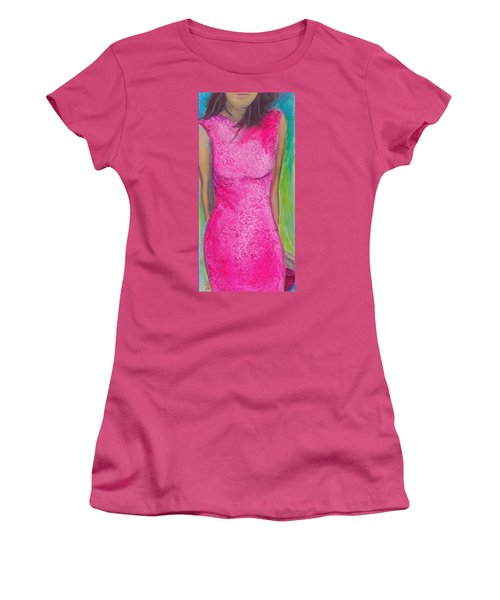 The Pink Dress Women's T-Shirt (Athletic Fit)